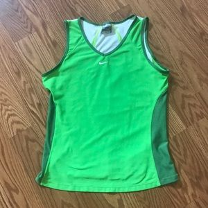 WOMANS NIKE FIT DRY ACTIVE TANK NWOT